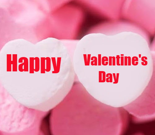 Happy Valentines Day Message Pic