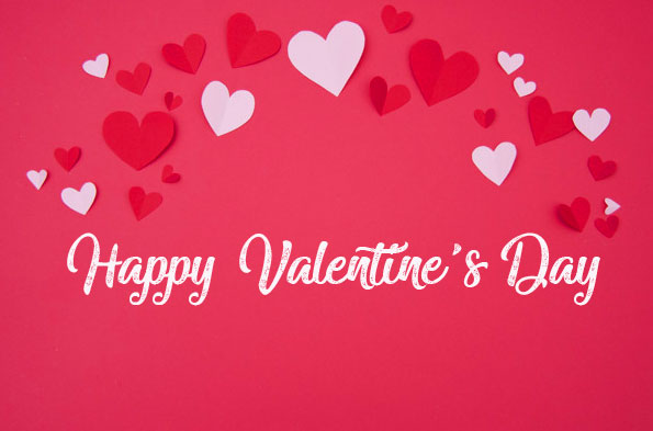 Happy Valentines Day Wish Image HD