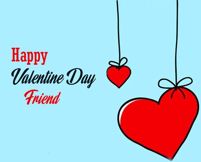 Happy Valentines Day Wsihes for Friend