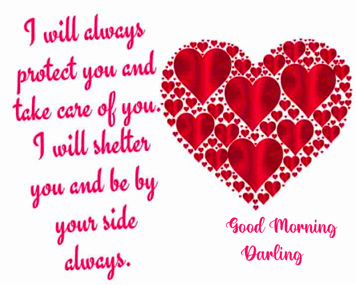 Heart Quote Good Morning Darling Image