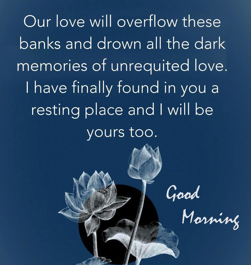 Heart Touching Love Quotes Good Morning Image