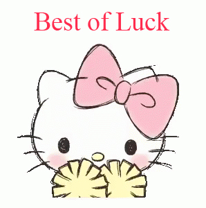 Hello Kitty Best of Luck Picture