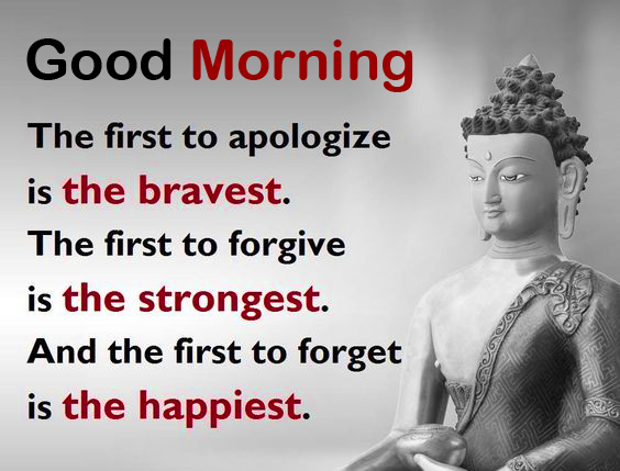Latest Good Morning with Buddha Quotes