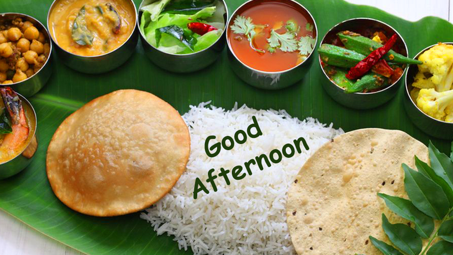 Latest Lunch Good Afternoon Image