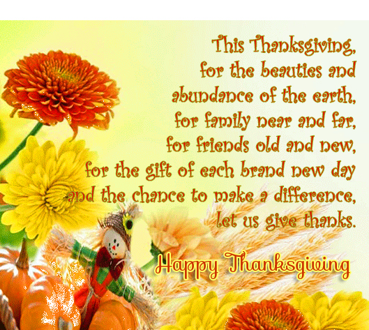 Latest Quotes with Happy Thanksgiving Message