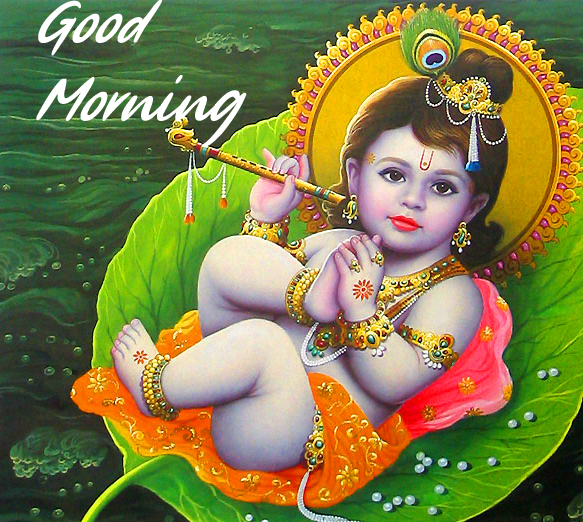 Latest and Best Krishna Good Morning Image