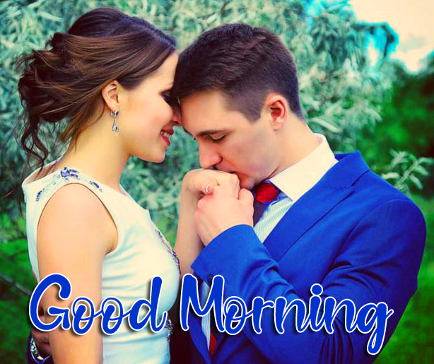 Love Couple Good Morning Picture