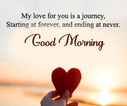 Love Good Morning Heart Quotes Pic