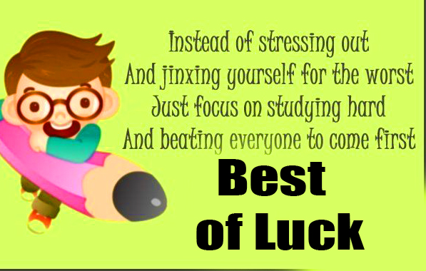 Lovely Animated Best of Luck Quotes