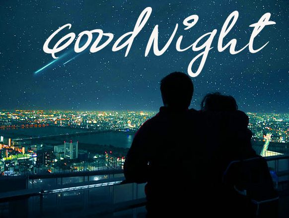 Lovely Couple Good Night Pic