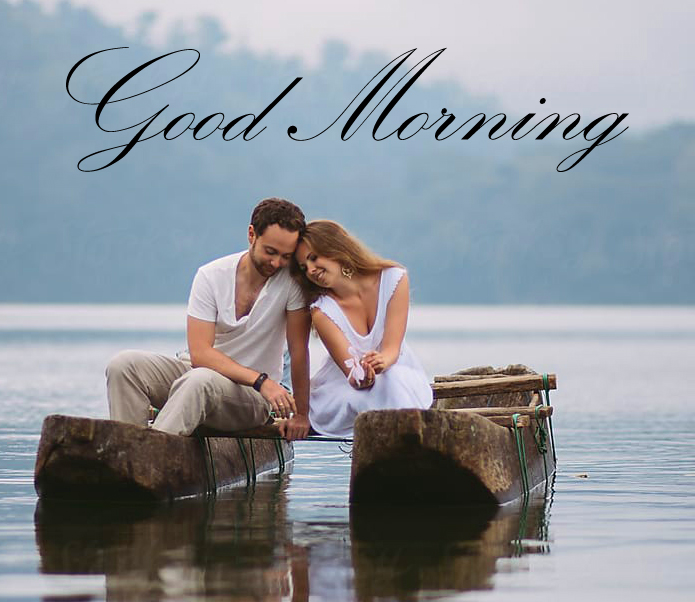 Lovely Couple Good morning Image