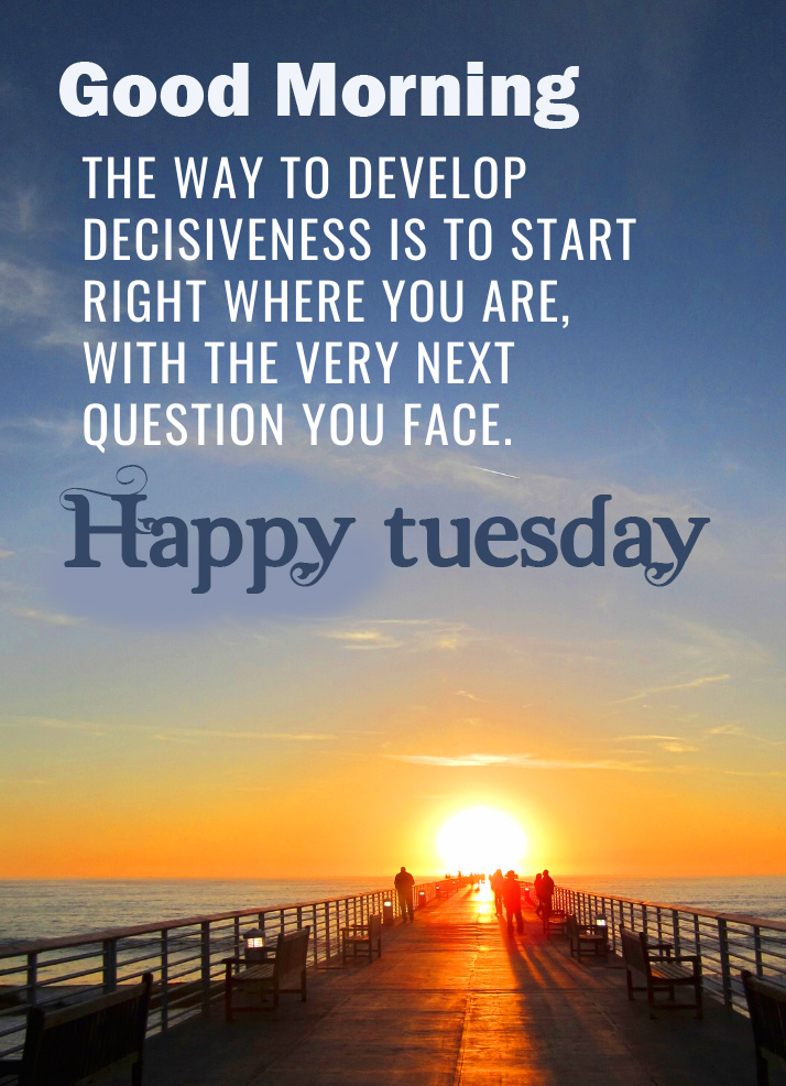 Lovely Happy Tuesday Good Morning Image