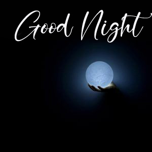 Lovely Mooon with Good Night Wish
