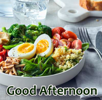 Lunch Good Afternoon Image HD