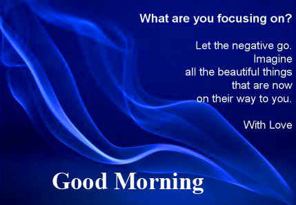 Positive Thoughts Good Morning Wallpaper