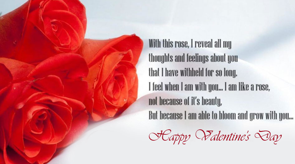 Quotes Happy Valentines Day Wallpaper