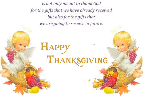Quotes with Happy Thanksgiving Messag