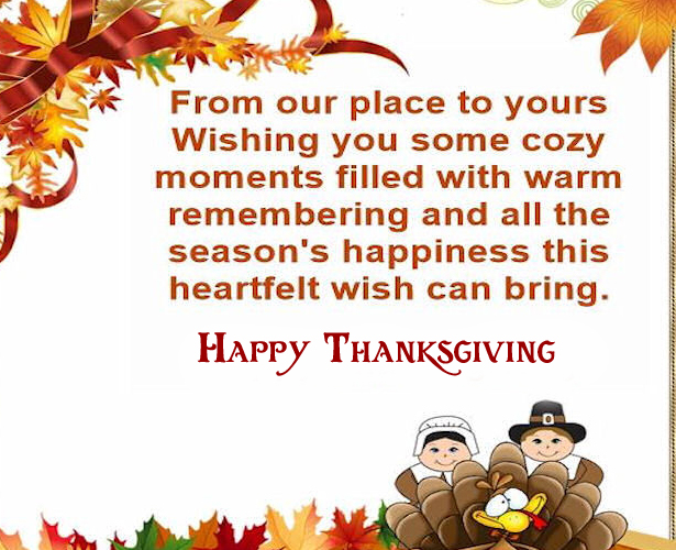 Quotes with Happy Thanksgiving Pic