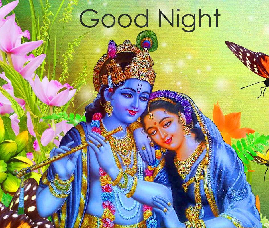 Radha Krishna HD Good Night