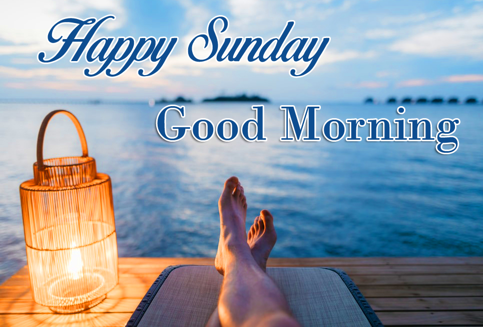 Relaxing Happy Sunday Good Morning Image