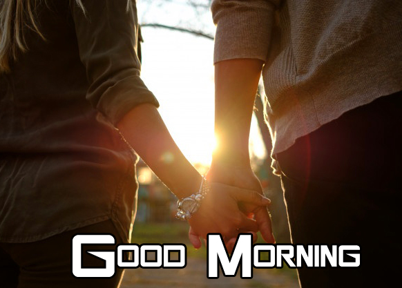 Romantic Couple Good morning Picture