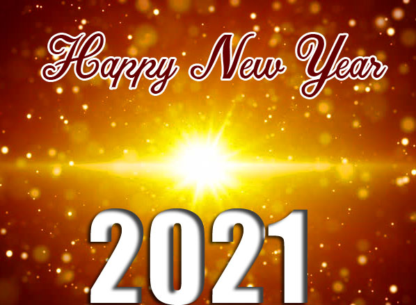 Shining Happy New Year Image