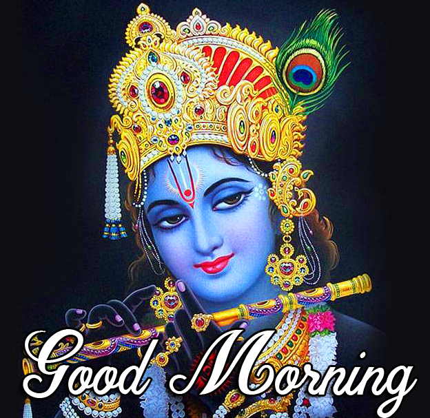 Shri Krishna Good Morning Wallpaper