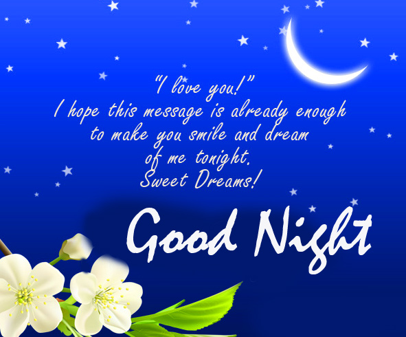 Sweet Good Night Message Pic