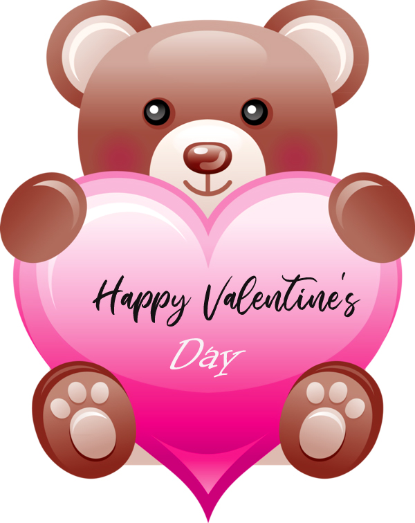 Teddy Bear Happy Valentines Day Picture HD