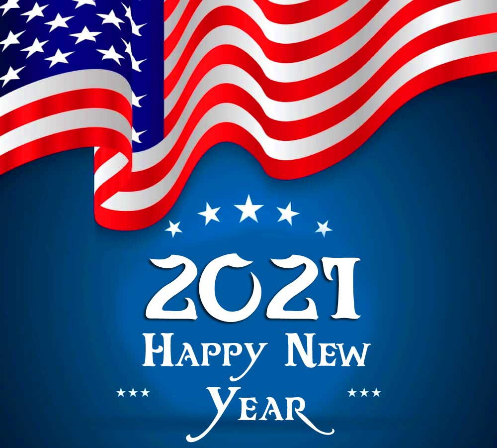 USA Happy New Year Wallpaper