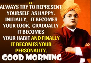 Vivekananda Quotes Good Morning Picture