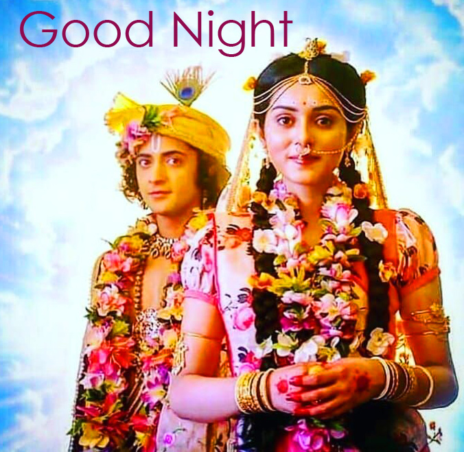 Wonderful Radha and Krishna Good Morning Image
