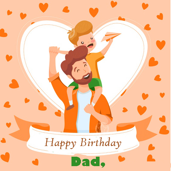 Animated Happy Birthday Dad Wallpaper and Pic