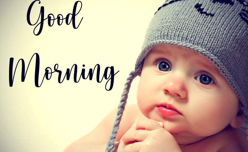 Baby Boy Lovely Good Morning Picture