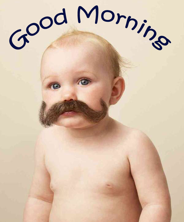 Baby Funny Good Morning Pic