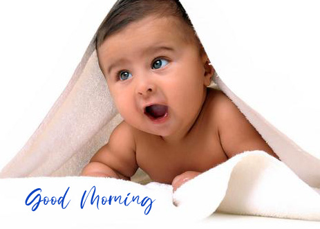 Baby Good Morning Boy Picture