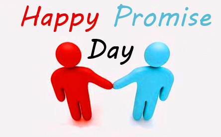 Beautiful Animated Couple Happy Promise Day Pic HD