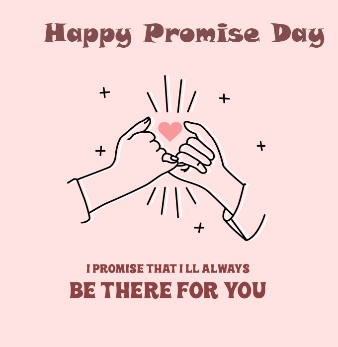 Beautiful Animated Happy Promise Day Image HD