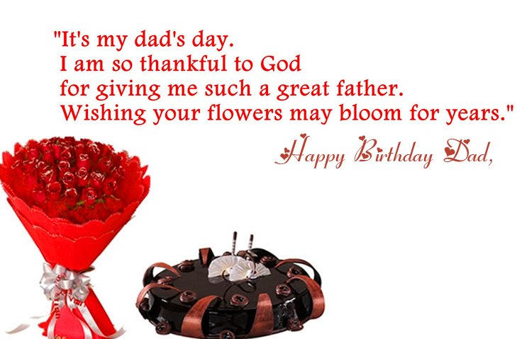 Beautiful Happy Birthday Dad Message Picture