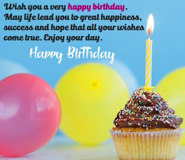 Beautiful Happy Birthday Message Picture HD