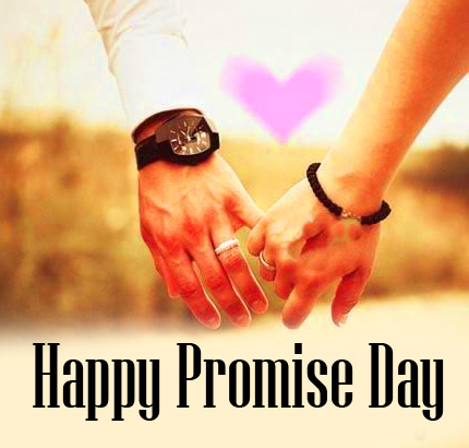 Beautiful Lover Hands HD Happy Promise Day Image