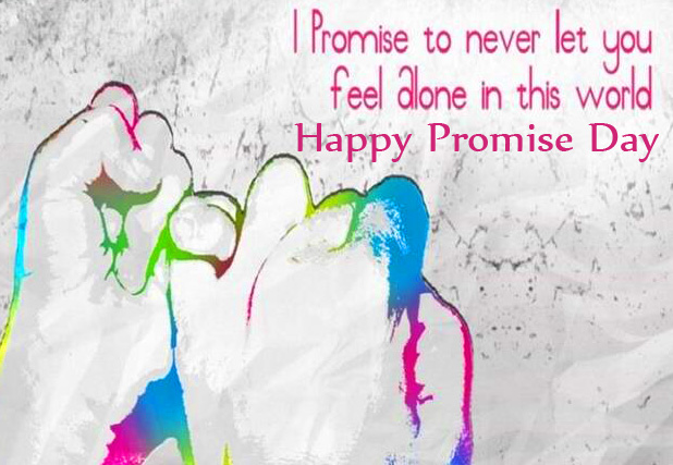 Beautiful Lover Hands Happy Promise Day Image HD