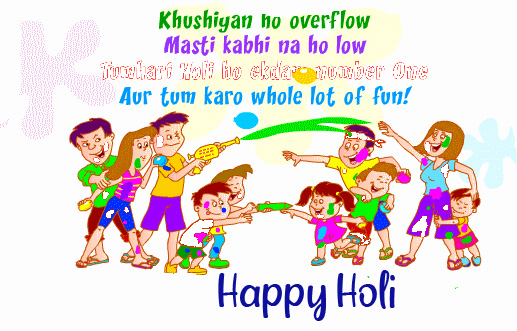 Beautiful Quotes Happy Holi Wish Picture