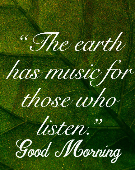 Best Green Quotes Good Morning Image