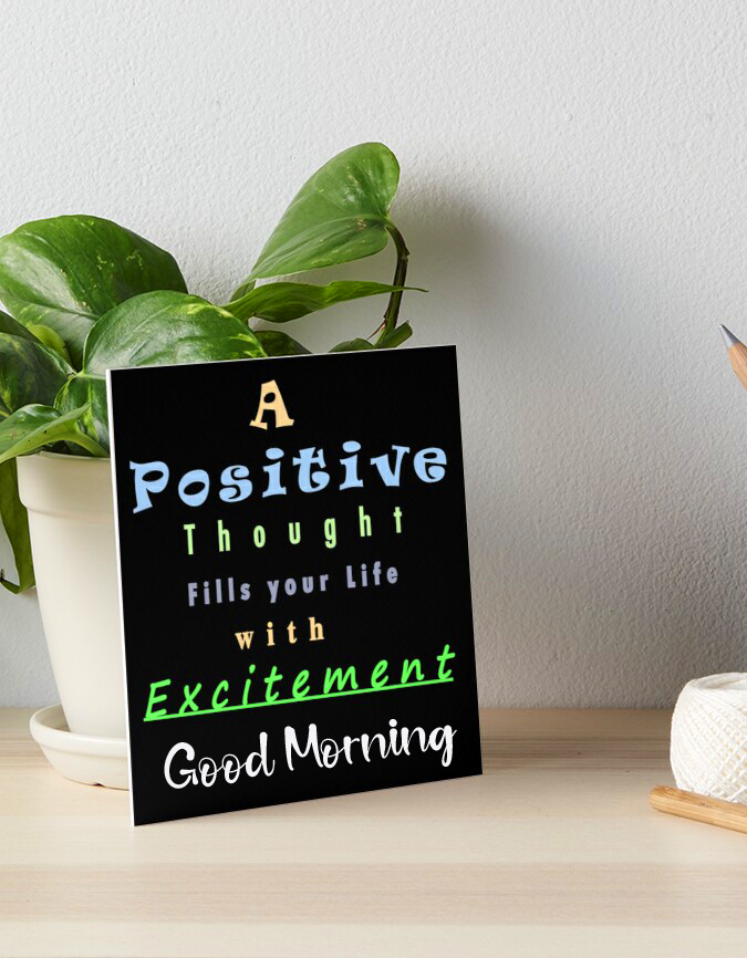 Best Positive Thought with Good Morning Wish