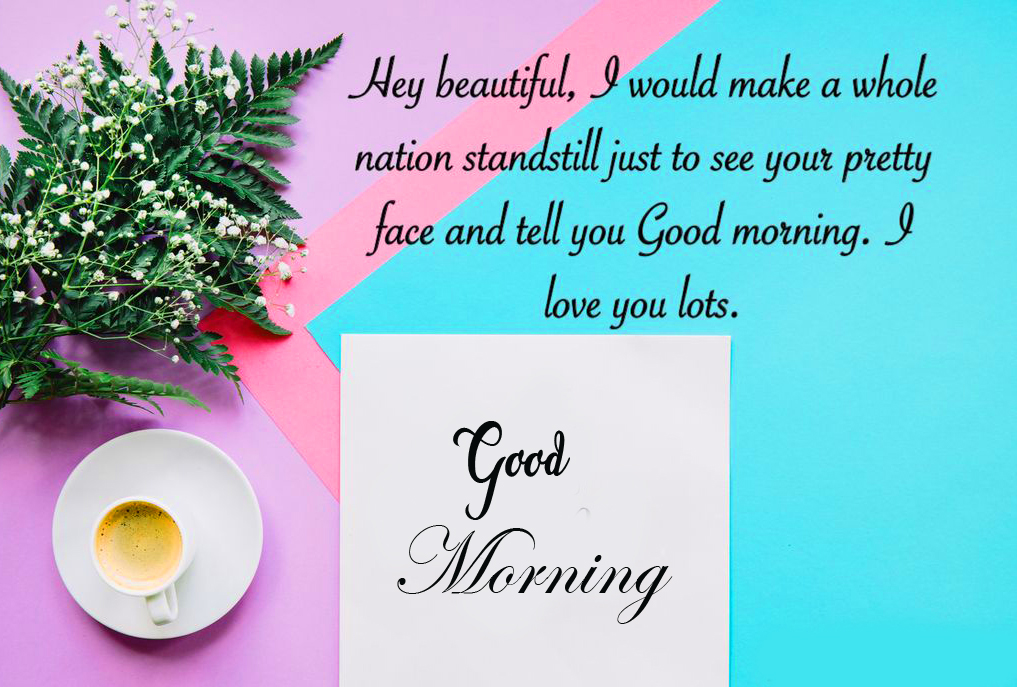 Blessing Message with Good Morning Wish