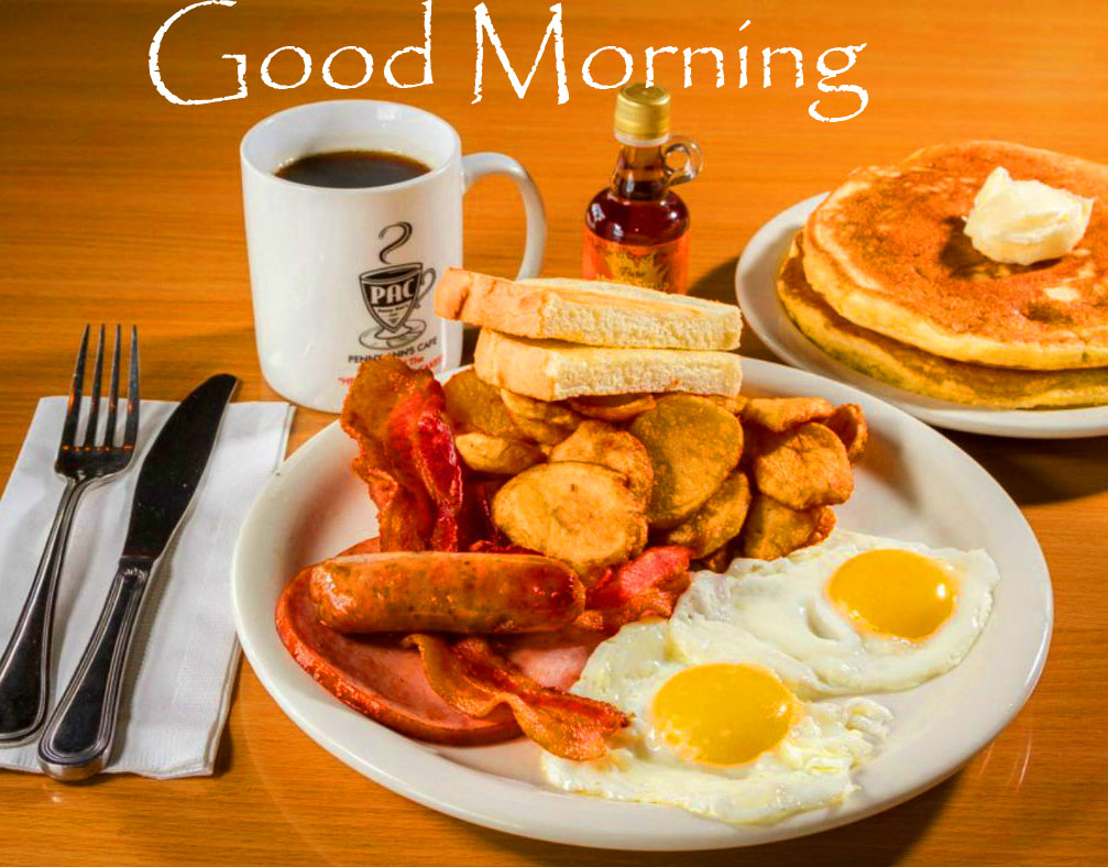 Breakfast with Good Morning Image