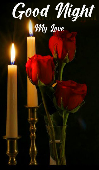 Candles Good Night Picture