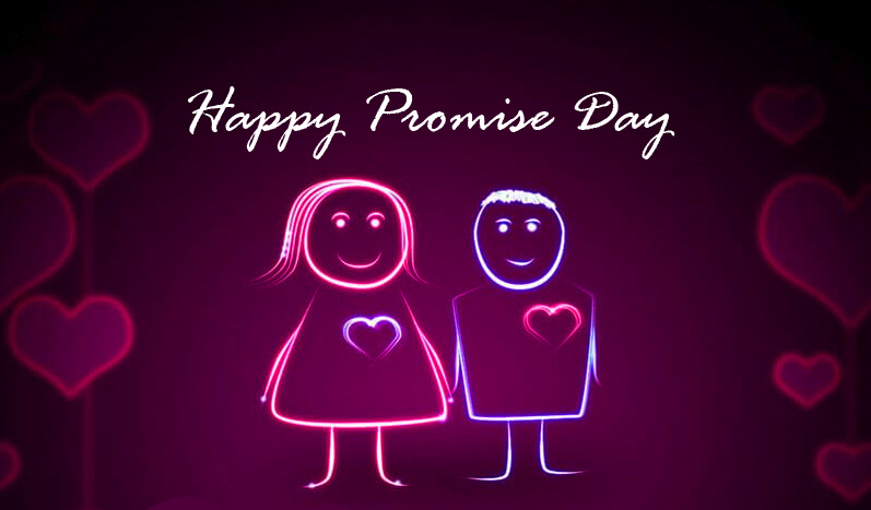 Cartoons Happy Promise Day Wallpaper