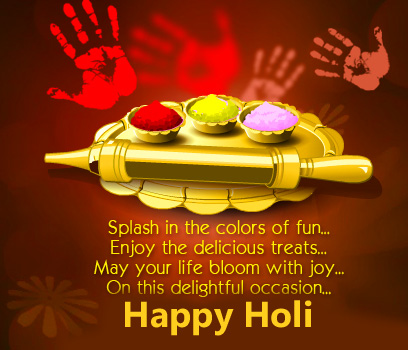 Colors Happy Holi Image Quotes